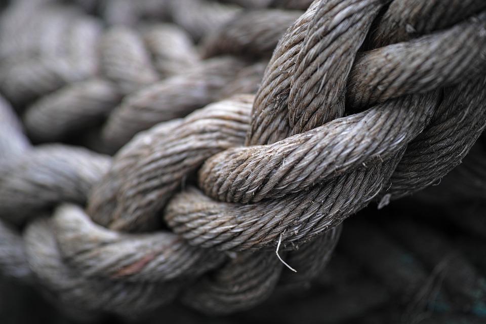 Прочность веревки
